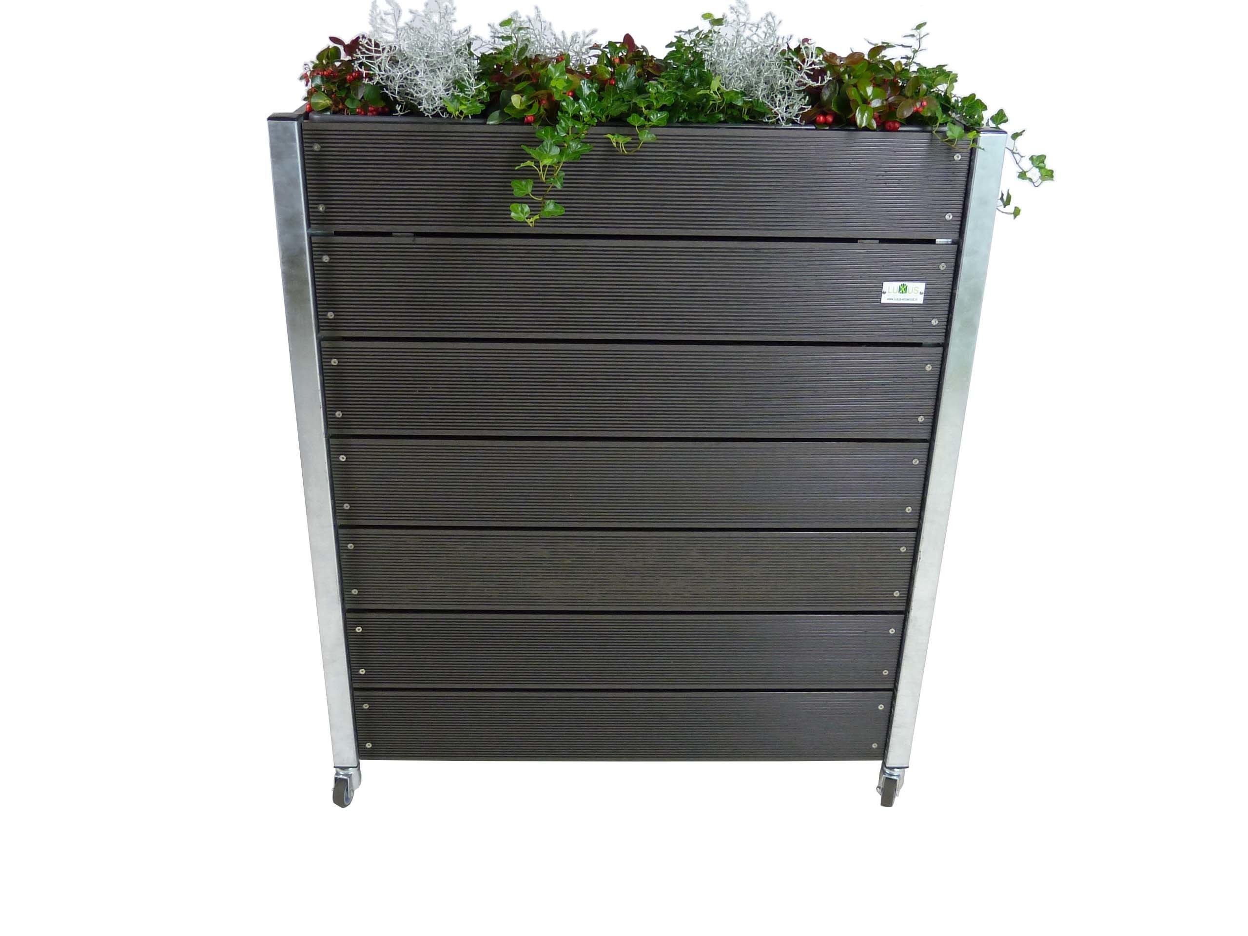 Nieuw Handige verrijdbare plantenbak voor terras of balkon VR-35