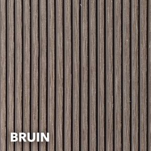 composiet plank bruin