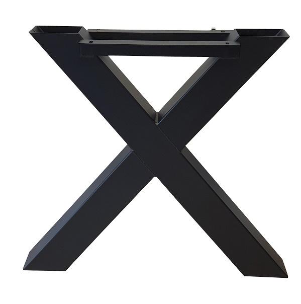 Tafelpoot staal kruis