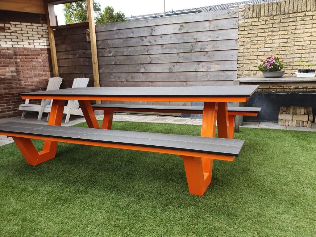 picknickbank special edition kleur oranje